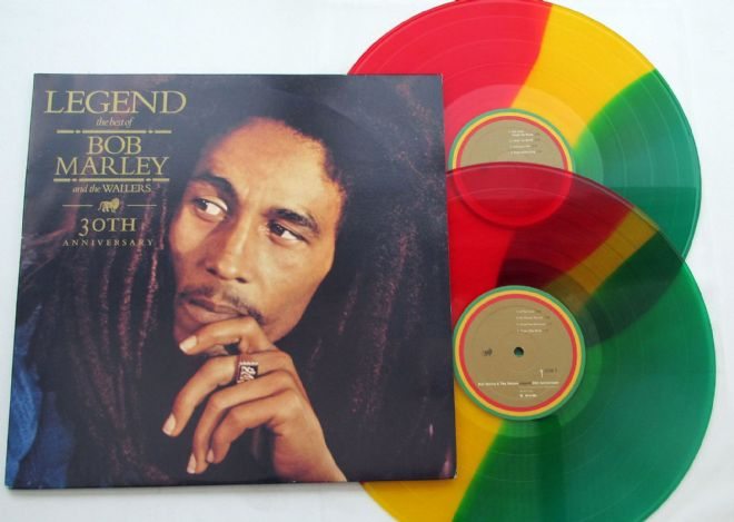 Bob Marley - Legend 30th Anniversary Tri-Coloured Vinyl
